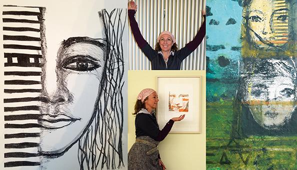 Kunst trifft Steuer XVII 'MENSCH & und andere Kulissen' mit Werken von Beate Hemmer