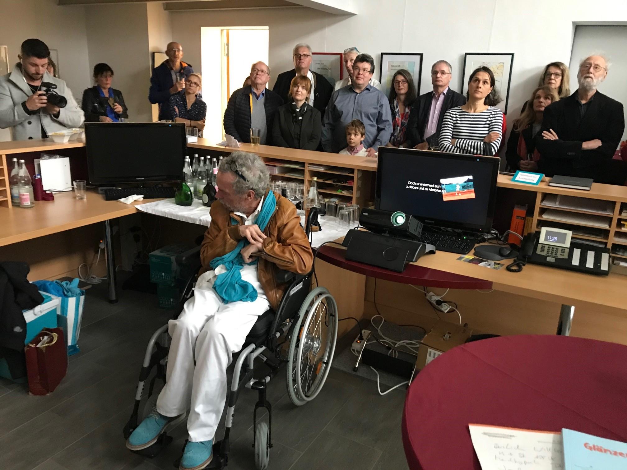 Der Mutmacher - Jochen Dolata - Kunst trifft Steuer XXIX - Matinee am 17.11.2019