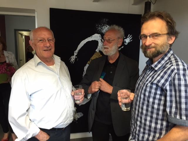 Kunstgespräche unter Künstlern: Jürgen Schädel, Ernst Weckert und Klaus Gerstendörfer