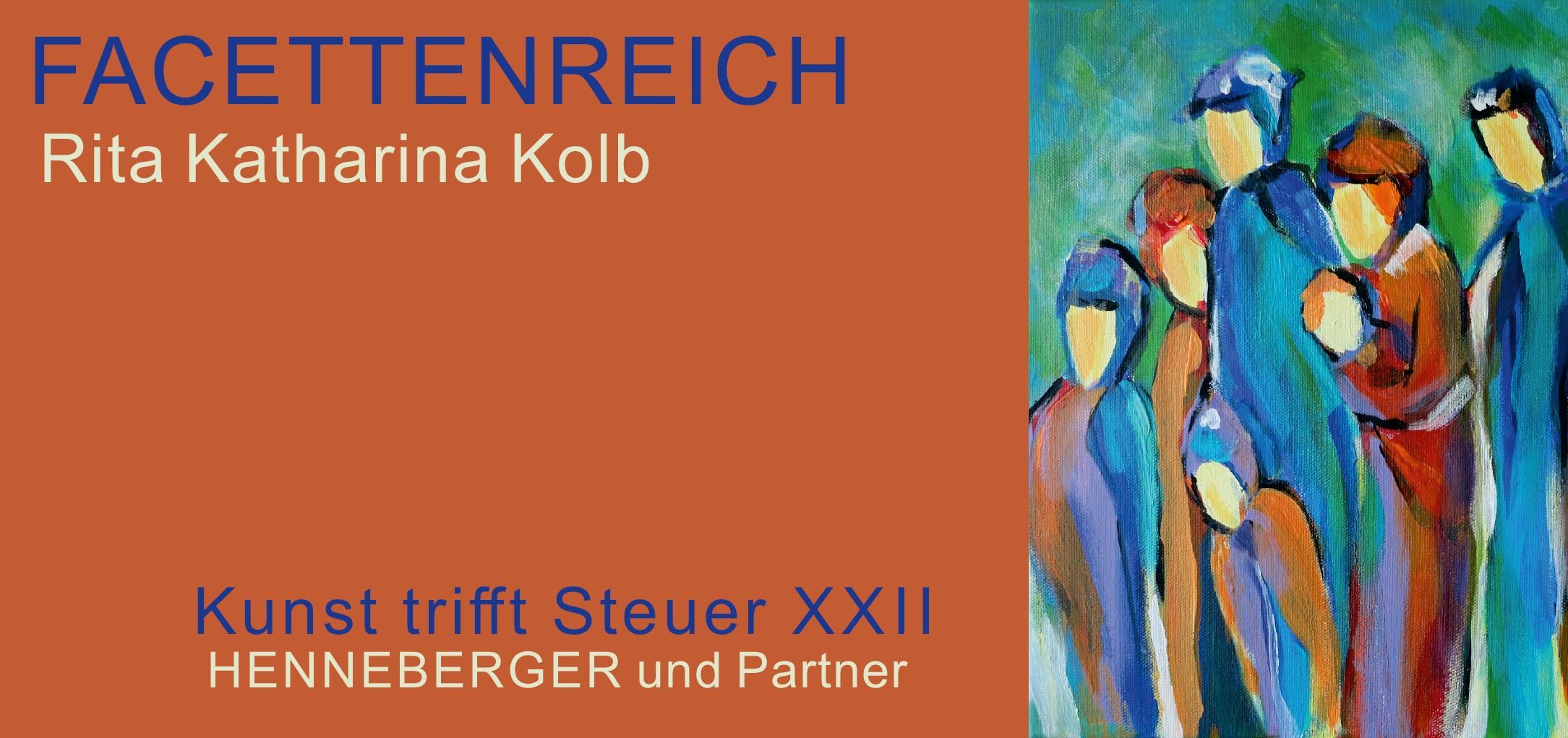 Kunst trifft Steuer - Facettenreich mit Rita Katharina Kolb