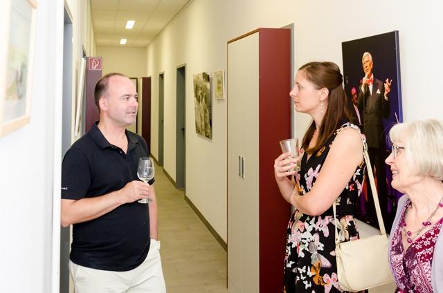 Kunst trifft Steuer - Sonderausstellung mit Siegfried Rauch zum 85.Geburtstag