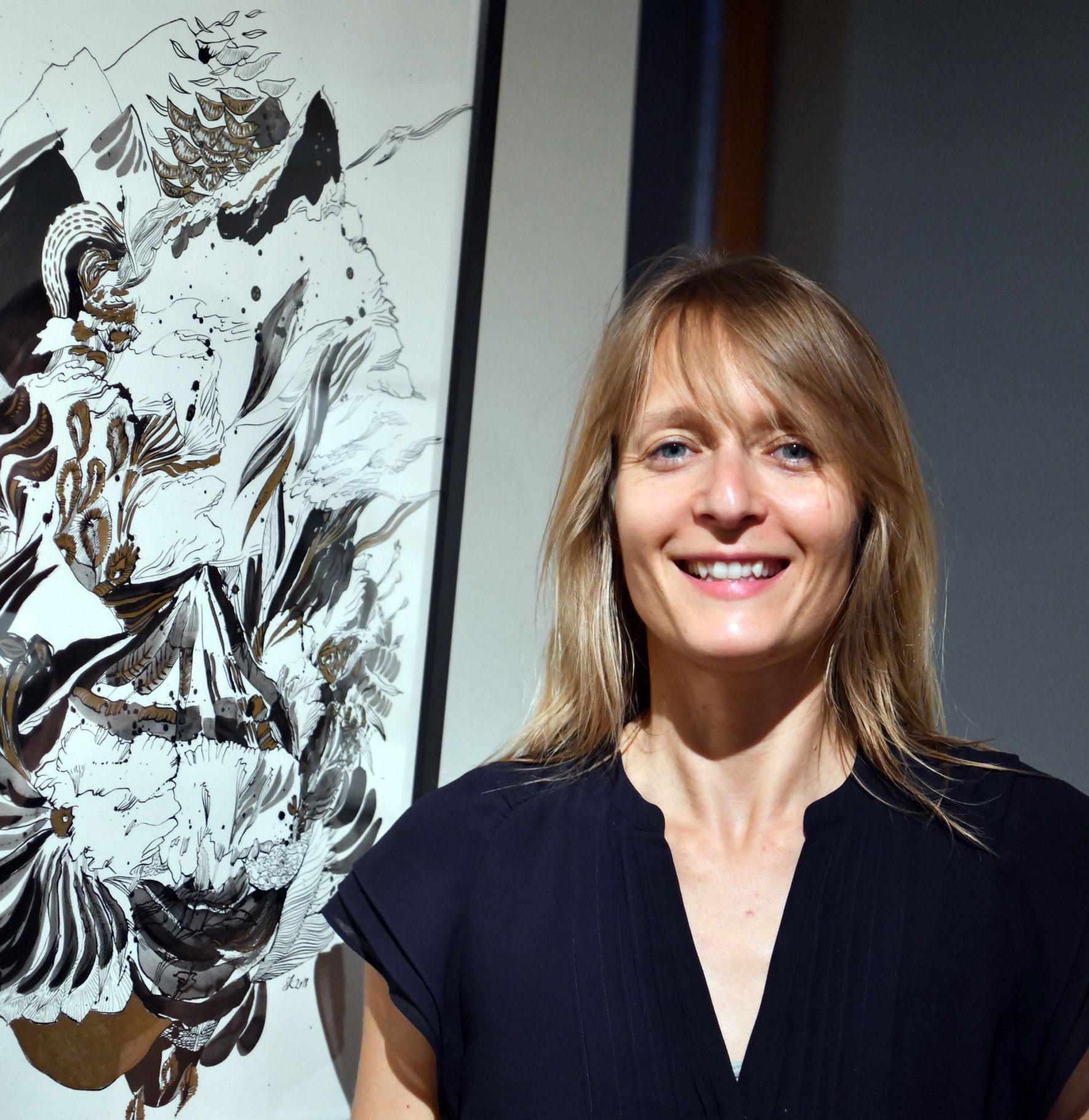 Aktuell zeigen wir Sylvia Krieg - Homecoming - als 27. Ausstellung unserer Reihe Kunst trifft Steuer